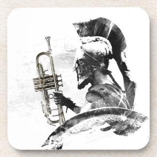 Trumpet Warrior Drink Coaster
