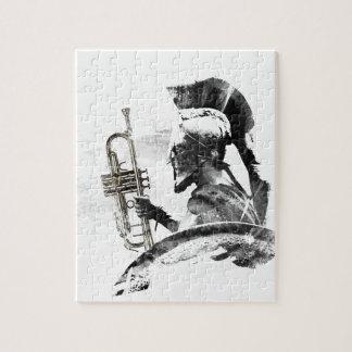 Trumpet Warrior Jigsaw Puzzle