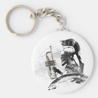 Trumpet Warrior Key Ring