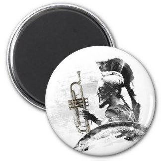 Trumpet Warrior Magnet