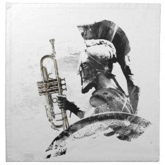 Trumpet Warrior Napkin