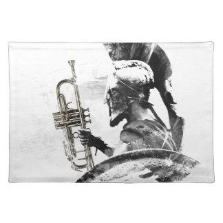 Trumpet Warrior Placemat