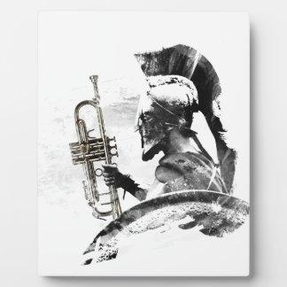 Trumpet Warrior Plaque