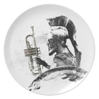 Trumpet Warrior Plate