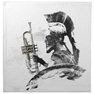 Trumpet Warrior Printed Napkins