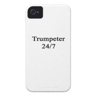 Trumpeter 24/7 iPhone 4 Case-Mate case