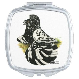 Trumpeter Pigeon Dark Splash Mirror For Makeup