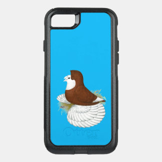 Trumpeter Pigeon Red Baldhead OtterBox Commuter iPhone 8/7 Case