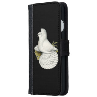 Trumpeter Pigeon White iPhone 6 Wallet Case