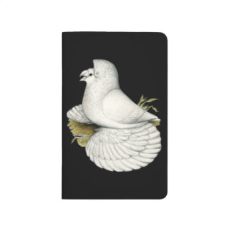 Trumpeter Pigeon White Journal