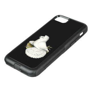 Trumpeter Pigeon White OtterBox Commuter iPhone 8/7 Case
