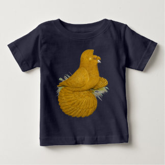 Trumpeter Pigeon Yellow Self Baby T-Shirt
