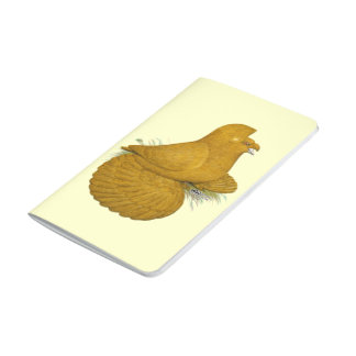 Trumpeter Pigeon Yellow Self Journal