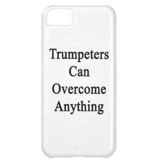 Trumpeters Can Overcome Anything iPhone 5C Covers