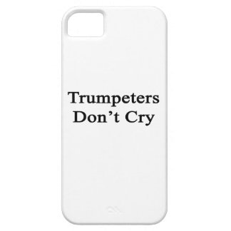 Trumpeters Don't Cry iPhone 5 Cover