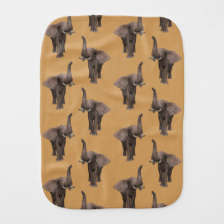 Trumpeting Elephant Burp Cloths