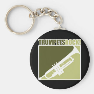 Trumpets Rock Key Ring