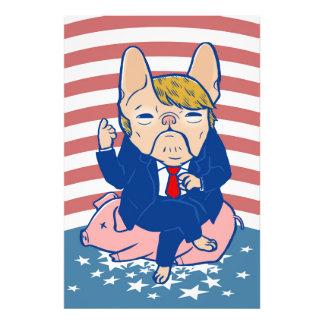 Trumping the Hog Art Photo