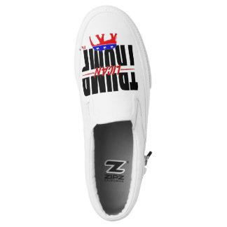 TRUMPlican #MAGA Slip-On Shoes