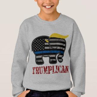 Trumplican Thin Blue Line Sweatshirt