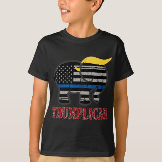 Trumplican Thin Blue Line T-Shirt