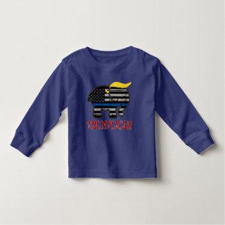 Trumplican Thin Blue Line Toddler T-Shirt