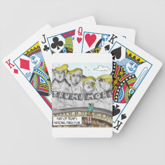Trumpmore Bicycle Playing Cards