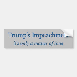 Trump's Impeachment Bumper Sticker