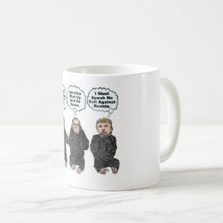 Trump's Monkeys - Trump, Ryan, McConnell Coffee Mug