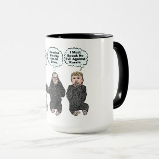 Trump's Monkeys - Trump, Ryan, McConnell Mug