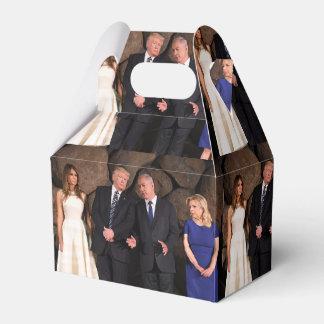 Trumps & Netanyahus At Yad Vashem In Jerusalem Favour Box
