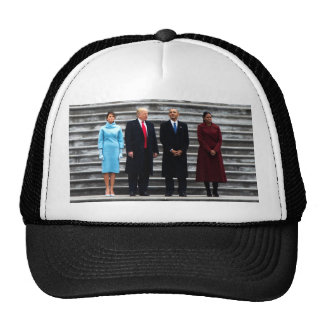 Trumps & Obamas On Inauguration Day Cap