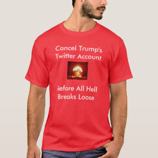 Trump's Twitter Account T-Shirt
