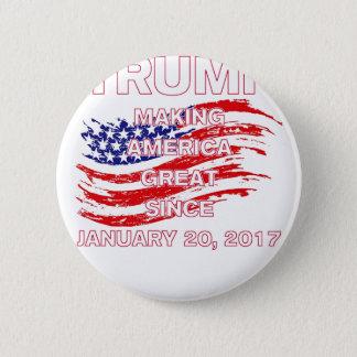 trumpSINCEflag 6 Cm Round Badge
