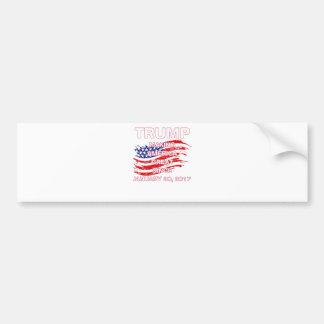 trumpSINCEflag Bumper Sticker