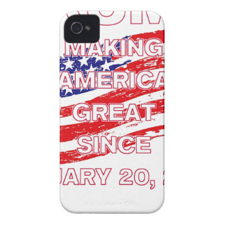 trumpSINCEflag iPhone 4 Covers