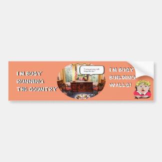 Trumpy Baby - Oval Office Bumper Sticker