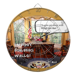 Trumpy Baby Say's... - Oval Office Dartboard