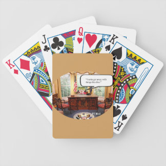 Trumpy Baby Says- Playing Cards