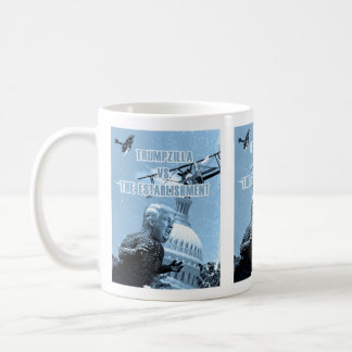 Trumpzilla Vs. The Establishment Mug