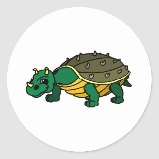 Trundal Round Sticker