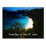 Trunk Bay, St. John 2012 Post Cards