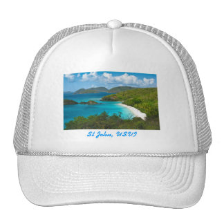 Trunk Bay, St John USVI Cap