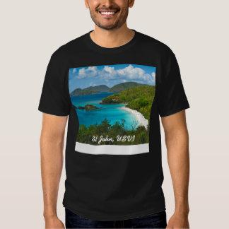 Trunk Bay, St John USVI T Shirts