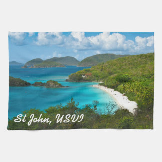 Trunk Bay, St John USVI Towels