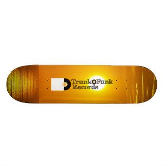 Trunk'O'Funk Puesta de Sol Deck Custom Skate Board