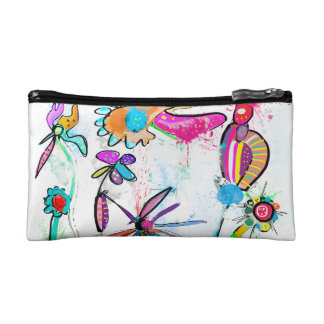 Trusses of make-up small, Alice' S Garden II Makeup Bag