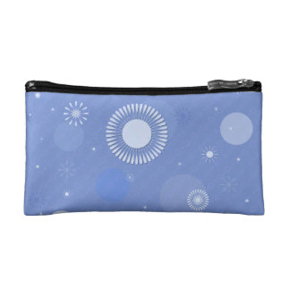 Trusses of make-up small size, blue makeup bag