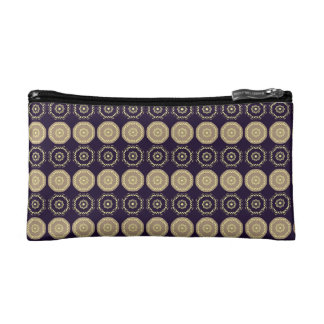 Trusses of make-up small size Dark Violet Cosmetic Bags