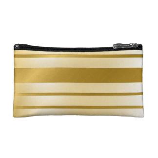 Trusses of make-up small size GOLD Lignes Makeup Bag